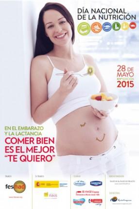 Cartel del Día Nacional de la Nutrición