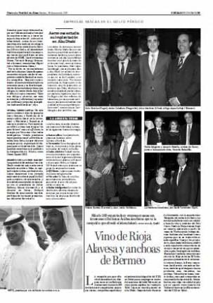 PDF del artículo de Conservas Serrats en Noticias de Alava