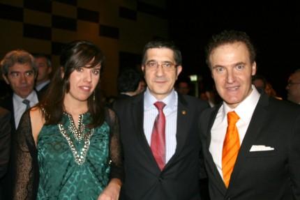 Naiara (Conservas Serrats), Patxi López y Valdelana