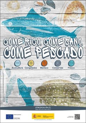 Cartel de la Semana de los Productos Pesqueros