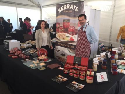 Conservas Serrats, en la feria gourmet  Longino Food Experience Day