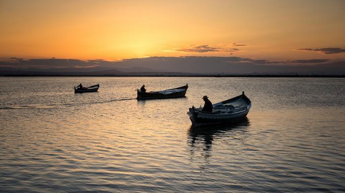 Las tres barcas