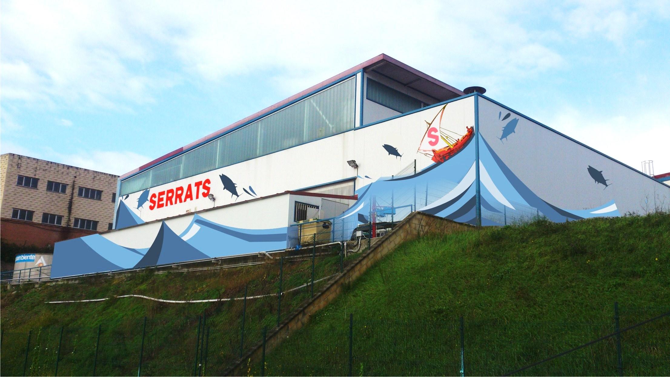 serrats_conservas_pescado_fabrica_exterior fábrica