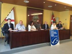 Entrega del certificado de pesca sostenible MSC
