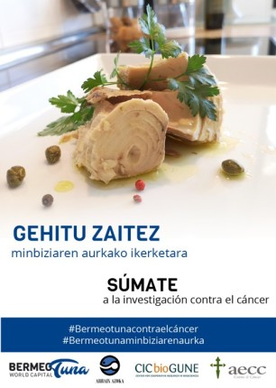 Campaña #Bermeotunacontraelcáncer
