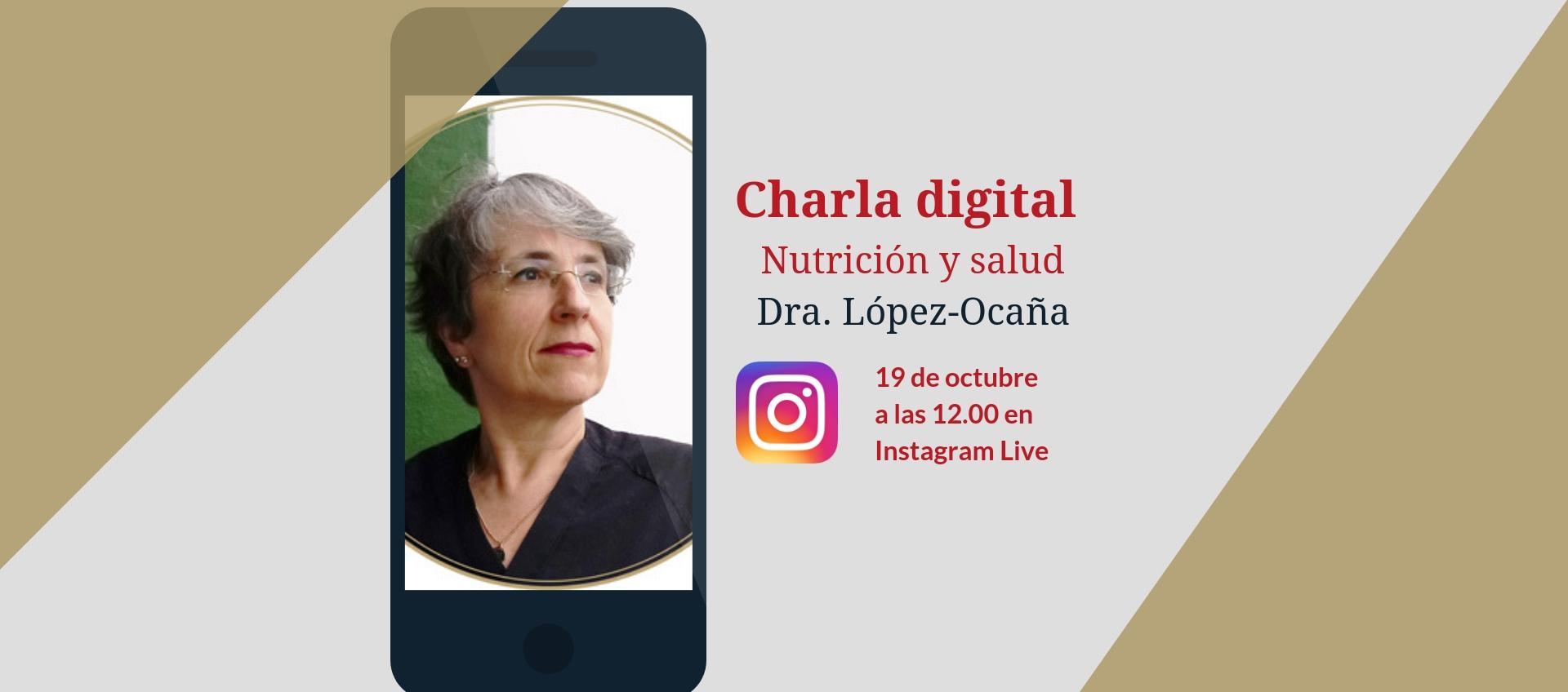 Charla digital sobre nutrición