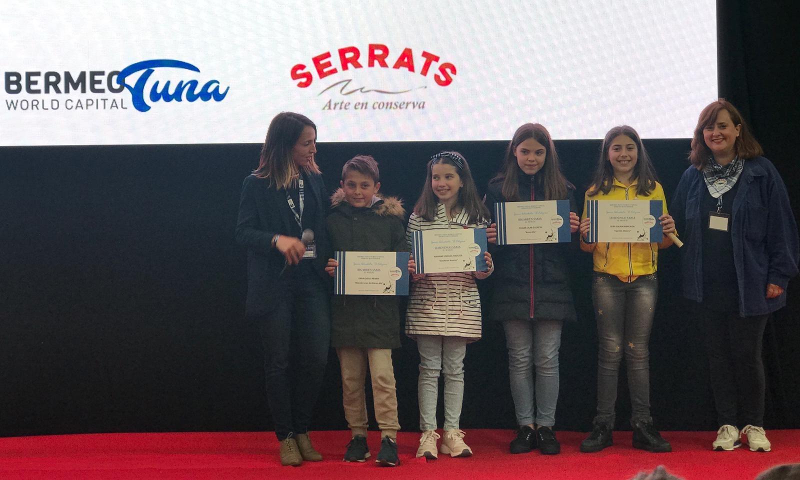 Entrega de premios del concurso de cuentos Bermeo Tuna World Capital Serrats