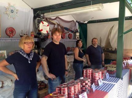 Conservas Serrats en la Arrain Azoka de 2014