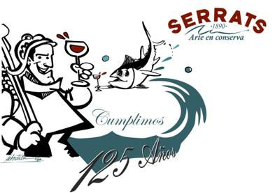Conservas Serrats 125 aniversario