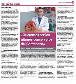 Entrevista a Ignacio Serrats, Director General de Conservas Serrats