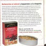 Conservas Serrats en la revista Alforja